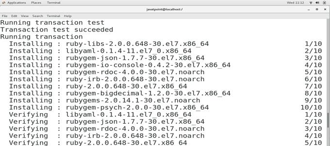 CentOS How to Install Ruby on CentOS 3