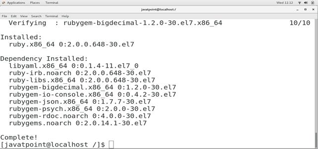 CentOS How to Install Ruby on CentOS 4