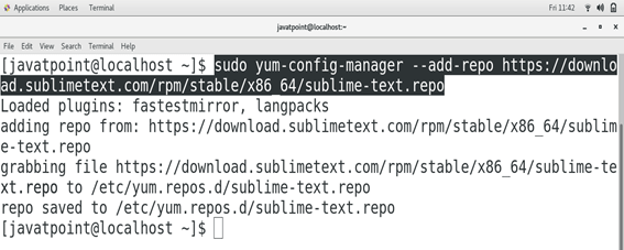 CentOS How to Install Sublime Text on CentOS 2