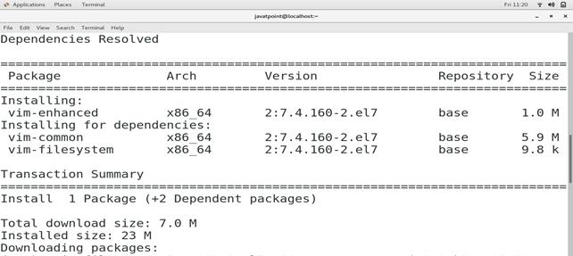 CentOS How to Install VIM on CentOS 3