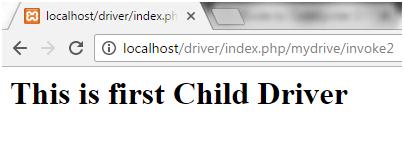 Codeigniter Driver 3