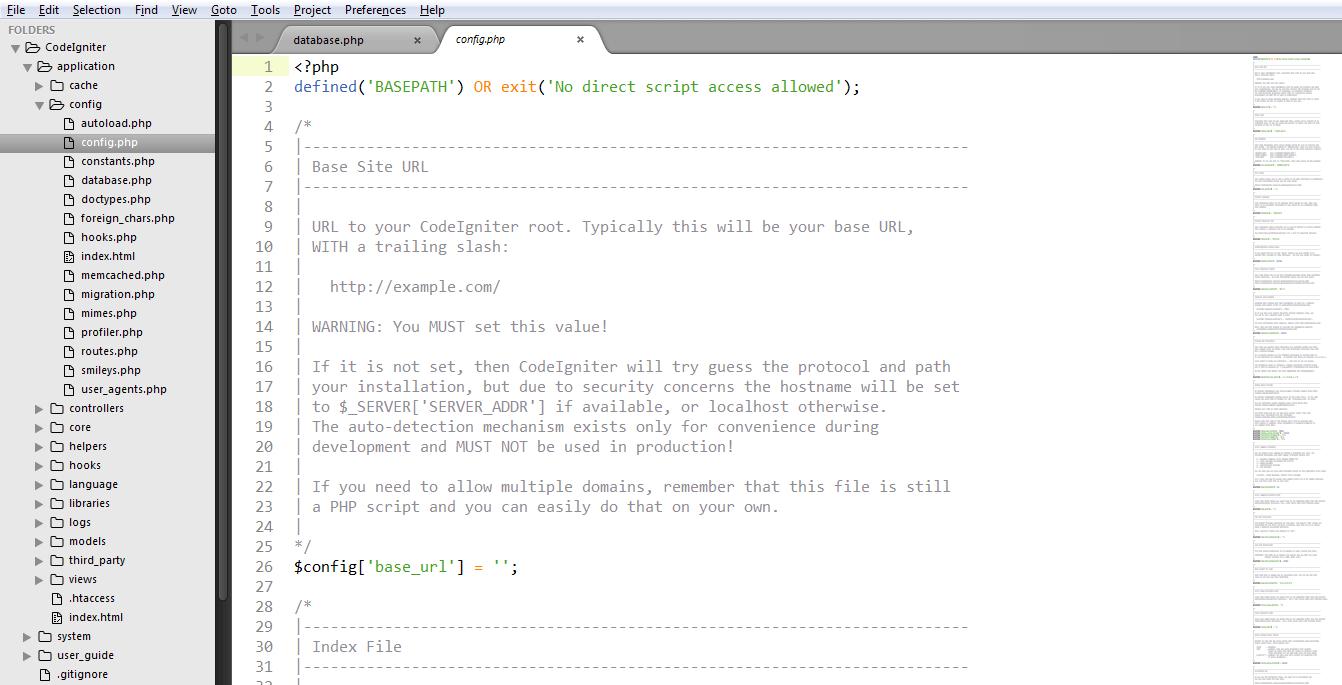 Codelgniter Installation 3