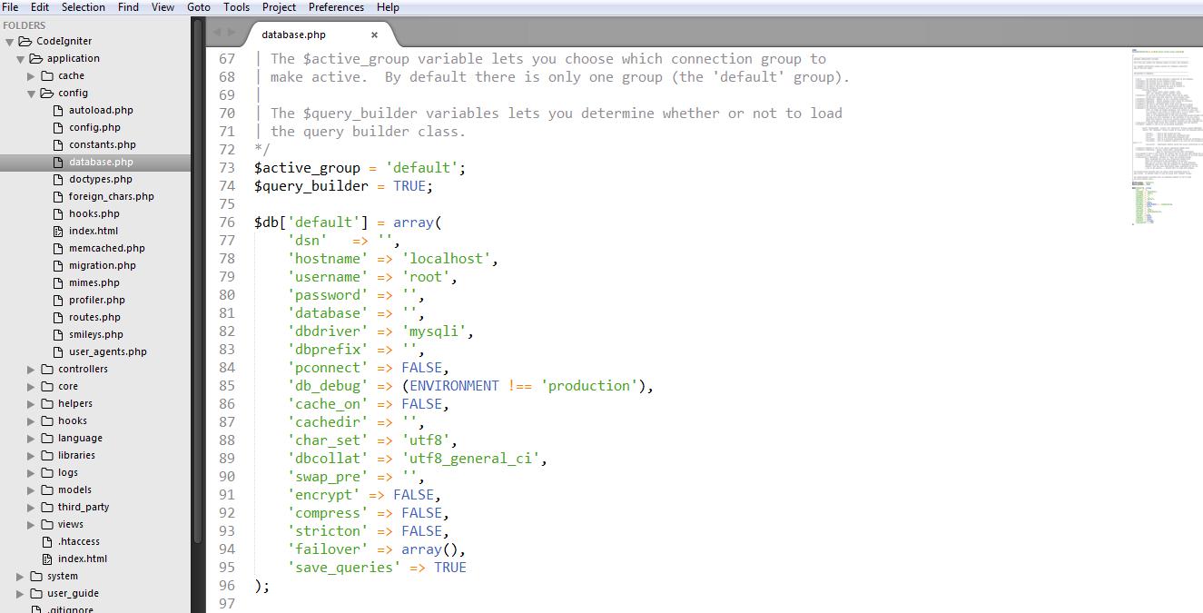 Codelgniter Installation 4