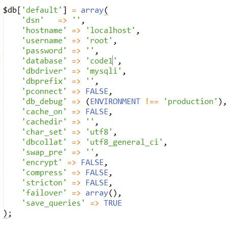 Database Configuration2