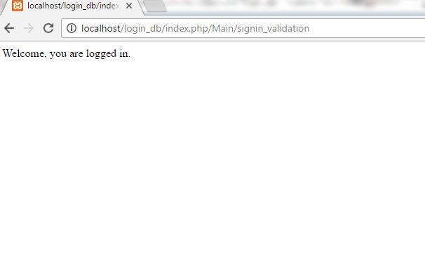 CodeIgniter Database Login Form - javatpoint