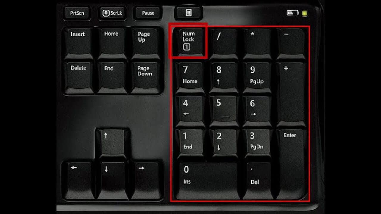 What is a Num Lock?
