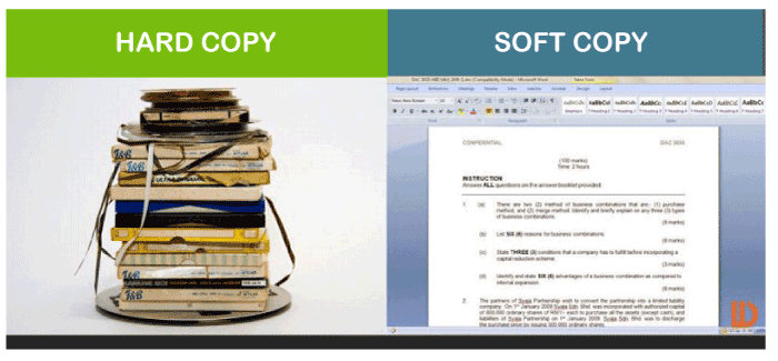 What is a Hard Copy
