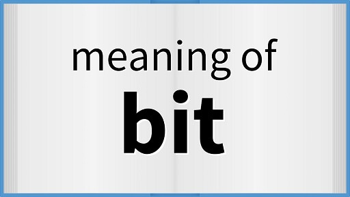 What is Bit