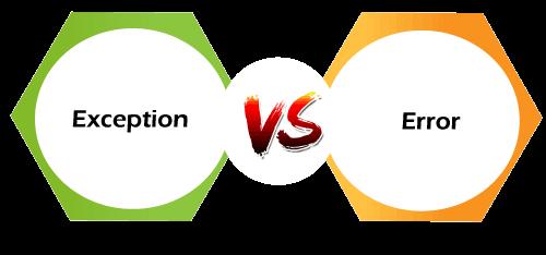 Exception Vs Error in Java