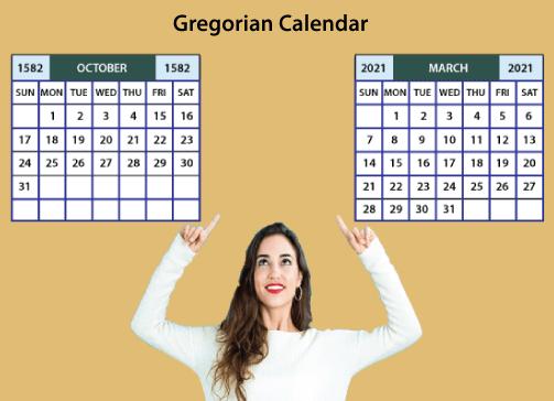 Gregorian calendar Java