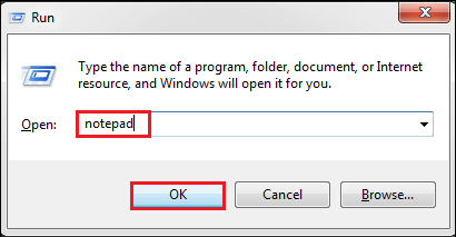 How to Run Java Program in CMD Using Notepad