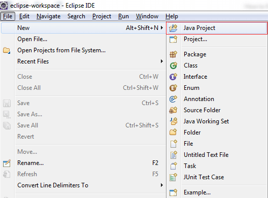 How to Run Java Program in Eclipse - Javatpoint