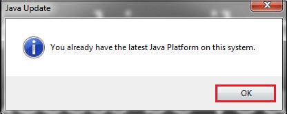 How to Update Java