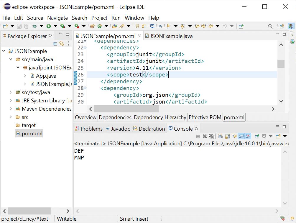 Iterate JSON Array Java