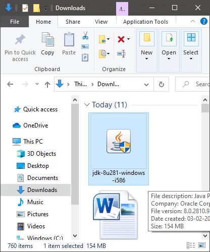 Java 32-Bit Download For Windows 10