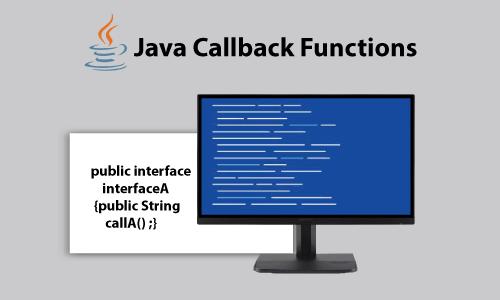 Java callback function