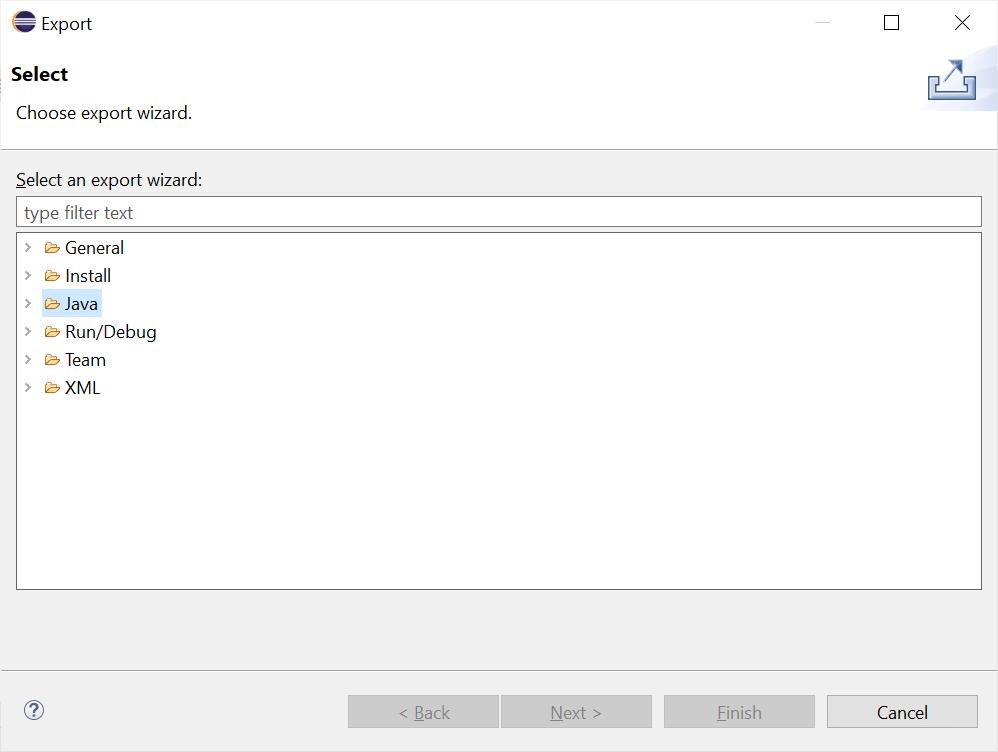 Java Create Jar Files