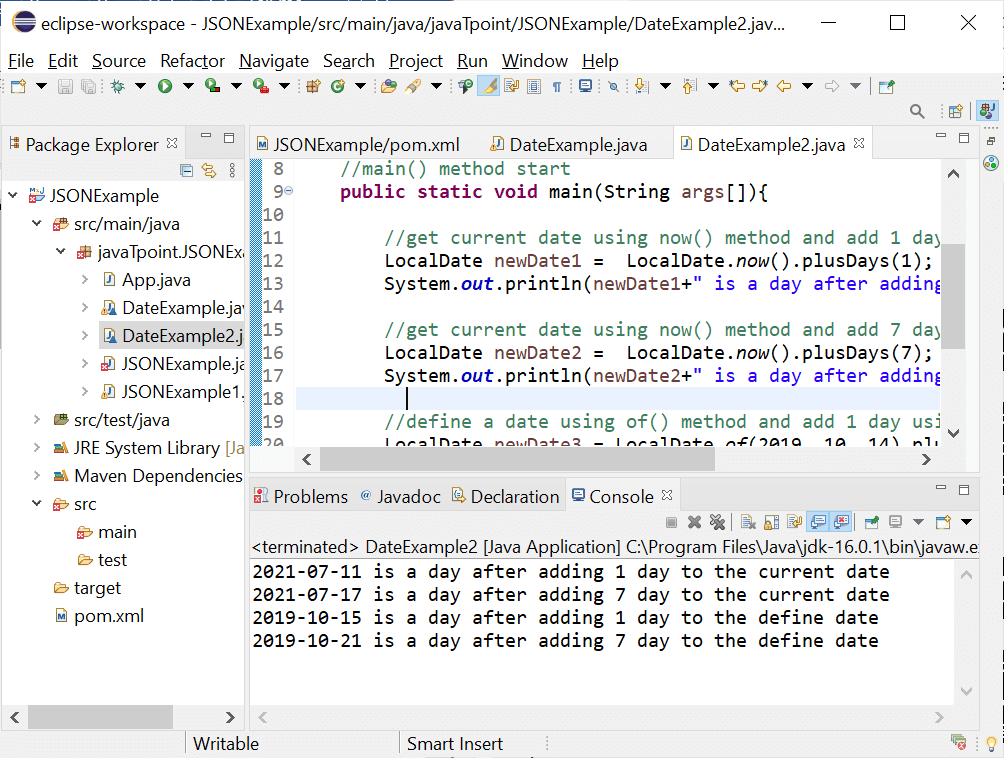 Java Date Add Days
