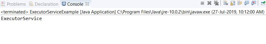 Java ExecutorService