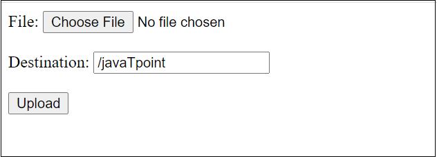 Java File Upload to a Folder