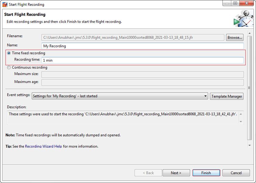 Java Flight Recorder