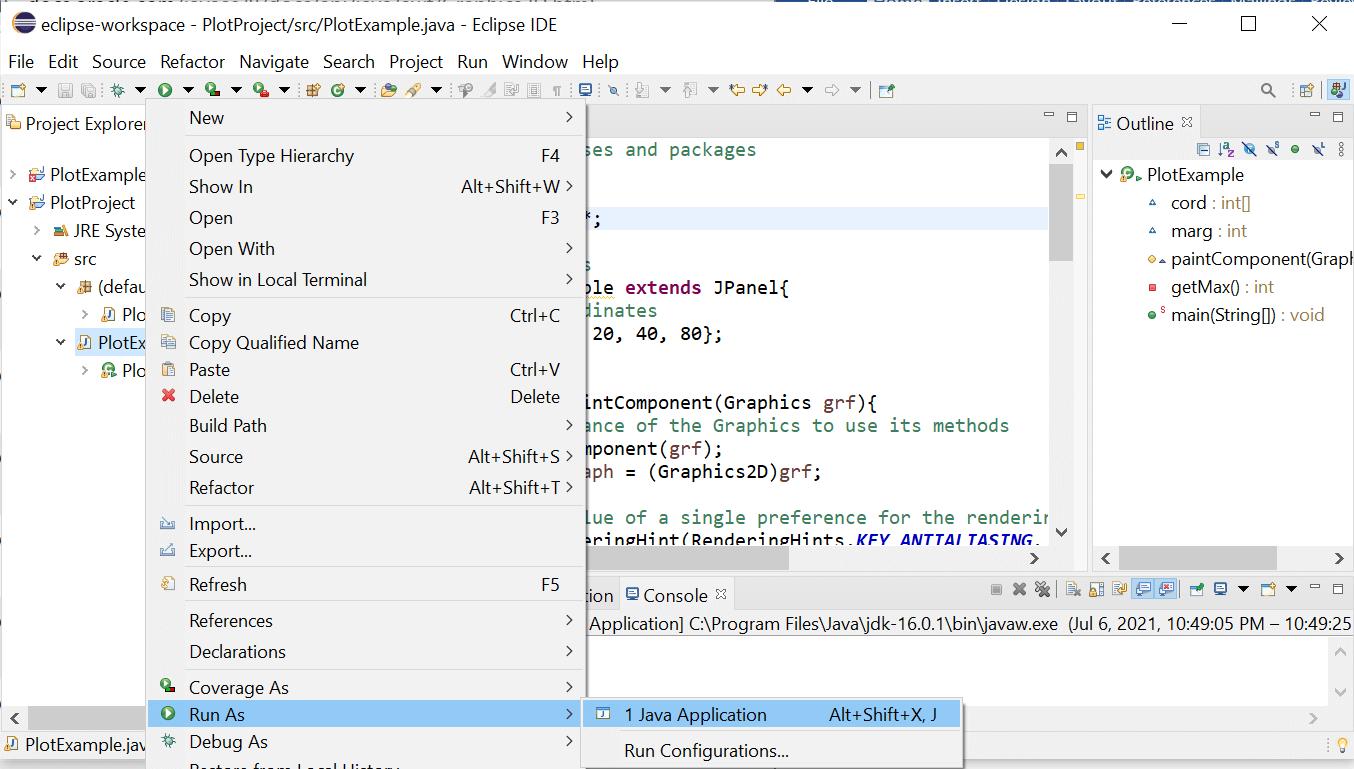 Java Plot