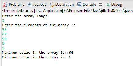 Passing Array to Function In Java
