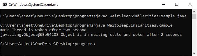 Wait vs Sleep in Java