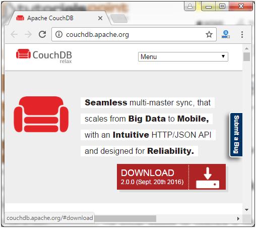 CouchDB Installation 1