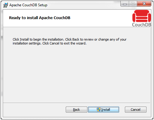 CouchDB Installation 10