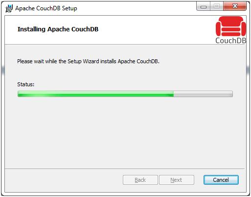 CouchDB Installation 11