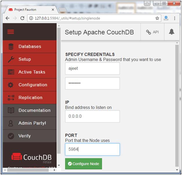 CouchDB Installation - javatpoint