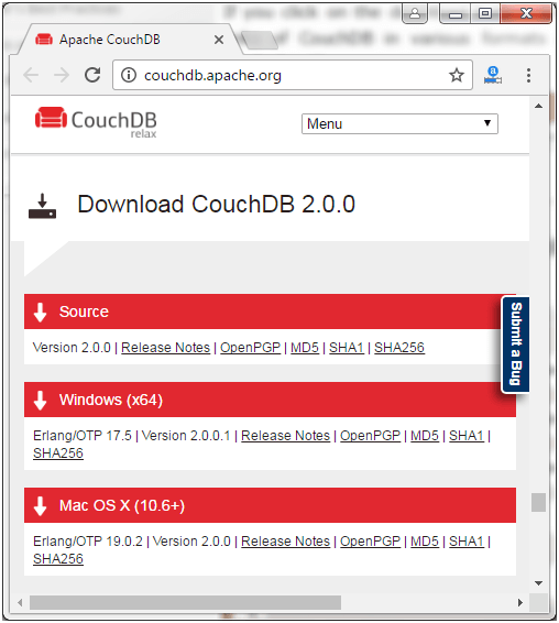 CouchDB Installation 2