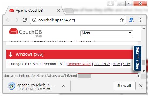 CouchDB Installation 3