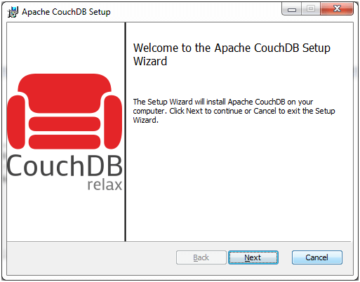 CouchDB Installation 6
