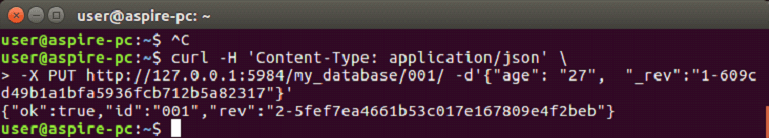 CouchDB Update document 2