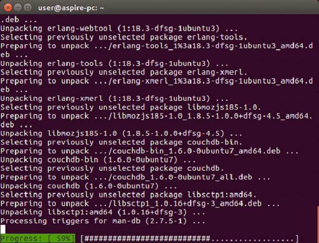 CouchDB Install CouchDB on Linux 3