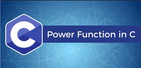 Power Function in C