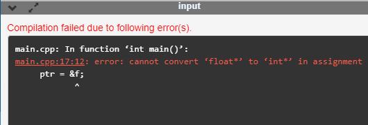 C++ Void Pointer