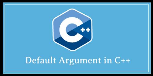 Default arguments in C++