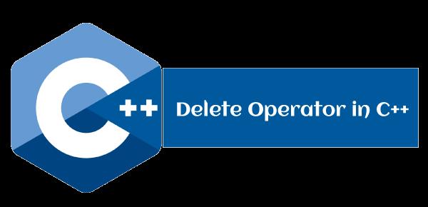 Delete Operator in C++
