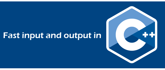 Fast input and output in C++