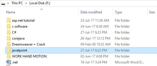 CSharp Directory info 1
