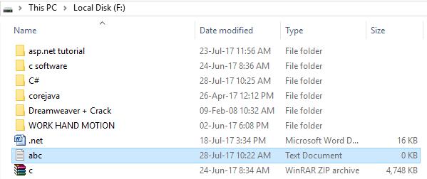 CSharp File info 1