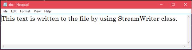 CSharp File info 2