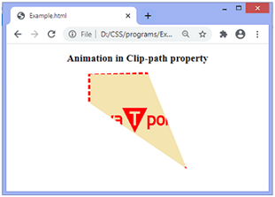 CSS clip-path