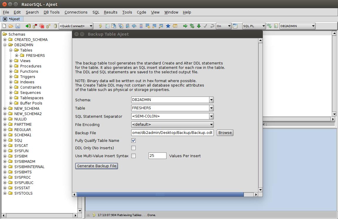DB2 Backup 2