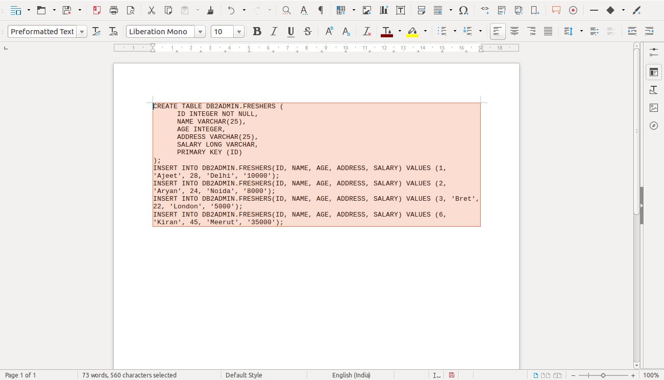 DB2 Backup 4