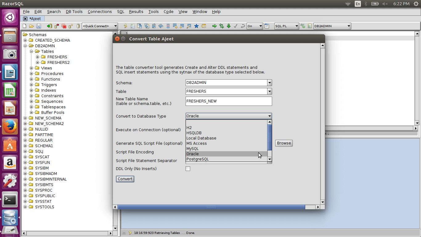 DB2 atabaseconversion2