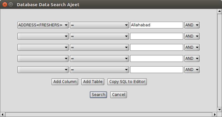 DB2 search2